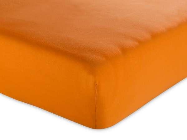 Spannbettlaken HASSAN 68, Orange Jersey, variabel einsetzbar