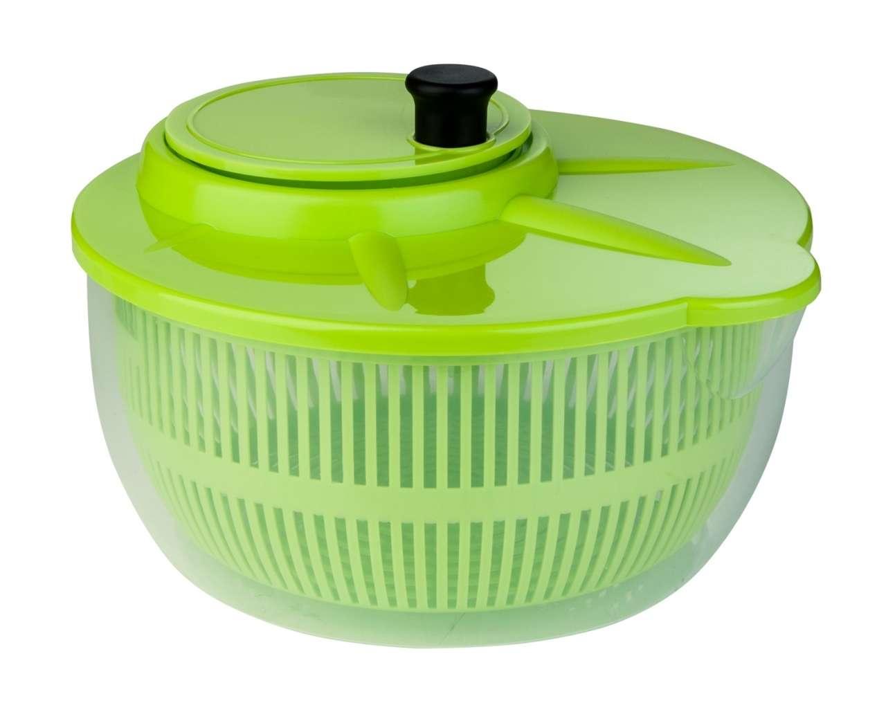 moebel-jack.de Salatschleuder LOTTI, grün, 24x24x13 cm