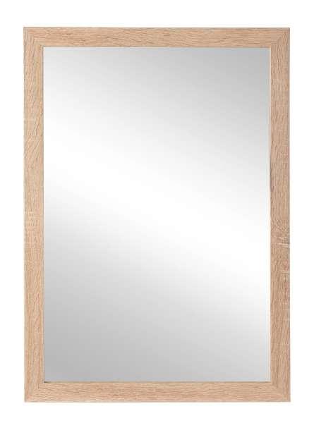 Spiegel, B 48 x H 68 cm, Rahmen Eiche hell