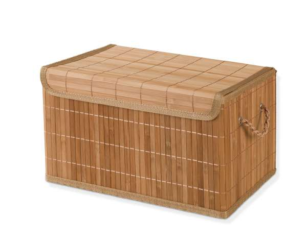 Aufbewahrungsbox MOHAN 1, Bambus natur, 42x31x24 cm