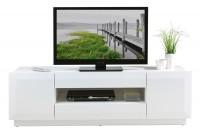 TV-Lowboard JONAH 5, weiß, 160 cm breit