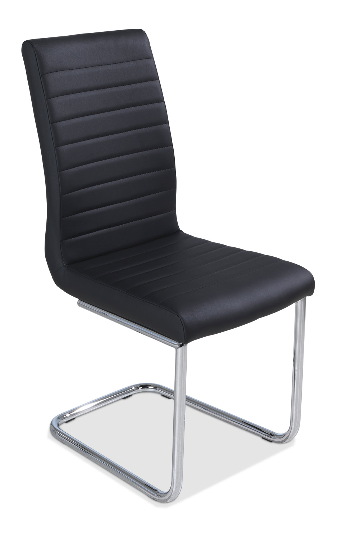 schwingstuhl pirma bezug kunstleder farbe schwarz. Black Bedroom Furniture Sets. Home Design Ideas