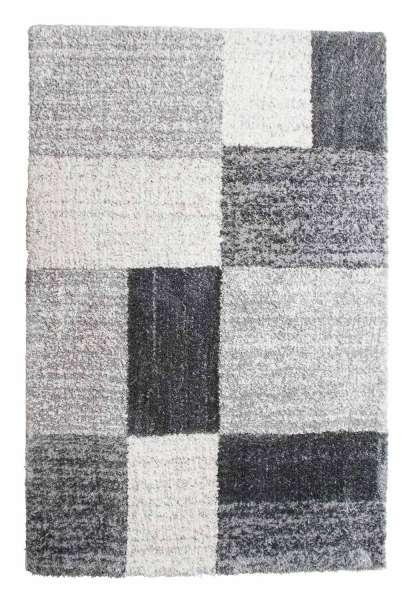 Teppich DELGARDO 112, B 80 x L 150 cm, Grau kariert