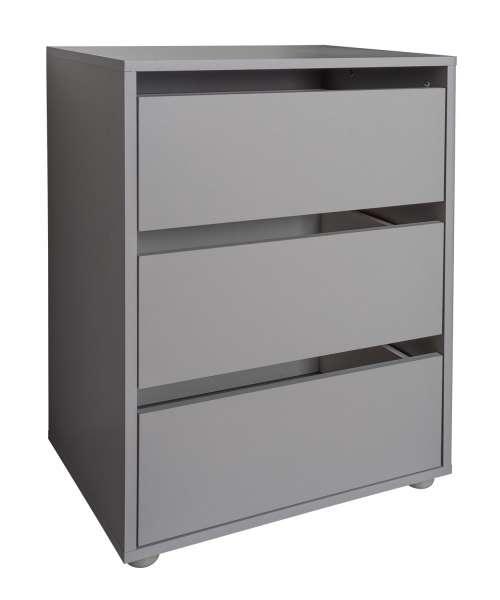 Innencontainer, Kleiderschrankzubehör 3, Grau, B 51 cm