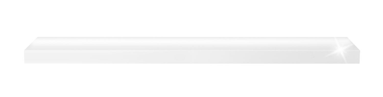 Wandboard WIEBE 1, Hochglanz Weiß