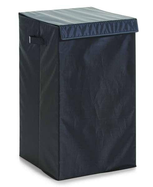 Wäschesammler Wäschebehälter Wäschebox BERTIL 2, Schwarz faltbar