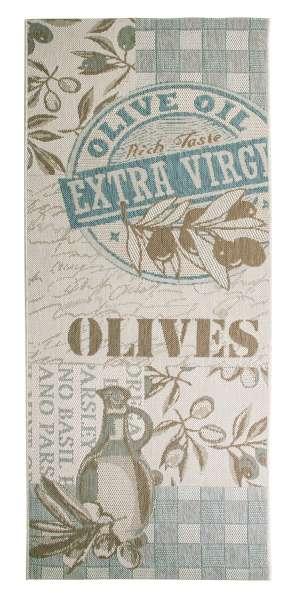 In- und Outdoorteppich OLIVE, 80x200 cm