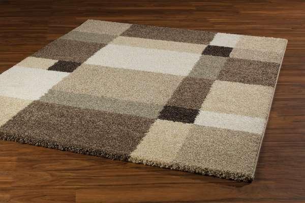 Teppich CASA beige 34, Beige-Hellbraun, 80x150 cm