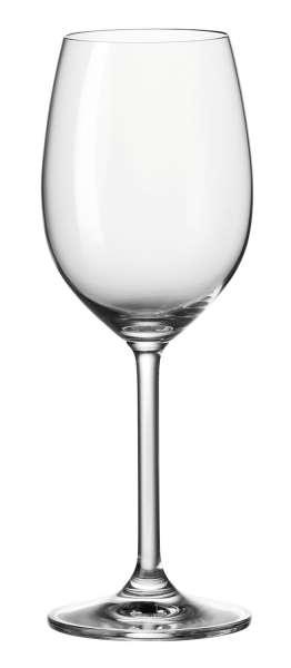 Glas Weißweinglas DAILY 1, 370 ml, Glas, Transparent, klar