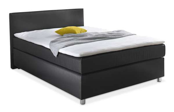 boxspringbett 140 x 200 cm mit matratze topper ace m bel jack. Black Bedroom Furniture Sets. Home Design Ideas