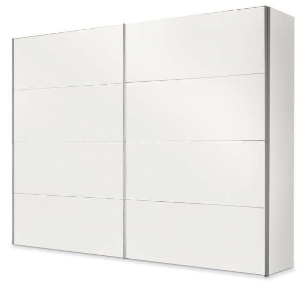 Schwebetürenschrank in Weiß bietet viel Stauraum FRANCO 3   Möbel Jack
