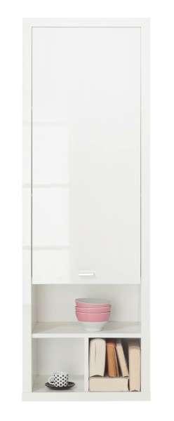 moderner h ngeschrank in wei hochglanz mit t r marc 3 m bel jack. Black Bedroom Furniture Sets. Home Design Ideas