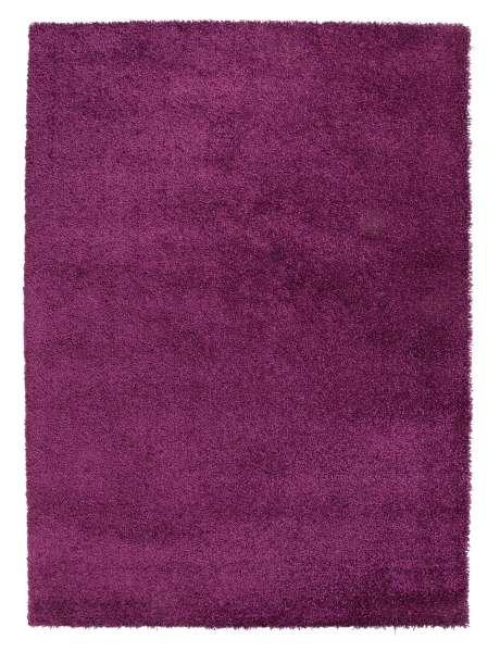 Teppich DELIGHT COSY 43, beere, trocknergeeignet, 60x115 cm