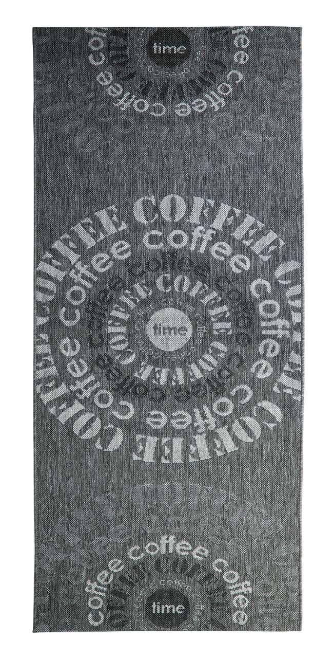 moebel-jack.de Outdoorteppich COVER Coffee grau, UV-beständig, wasserabweisend, 80x200 cm