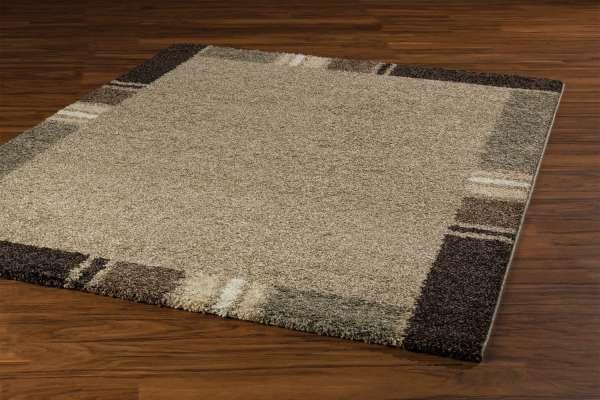Teppich CASA beige 22, Beige-Hellbraun, 160x230 cm