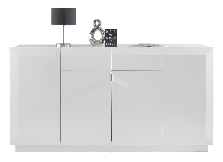 Sideboard JONAH 3, weiß matt, mit 4 Türen