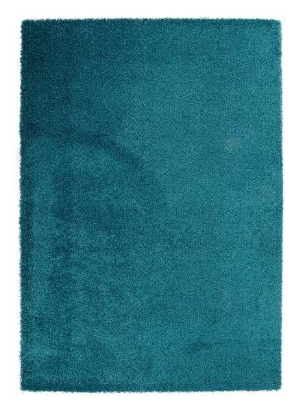 Teppich DELIGHT COSY 53, petrol, trocknergeeignet, 60x115 cm