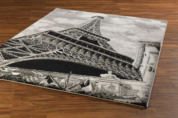 Teppich PARIS 1, Grautöne, 160x230 cm