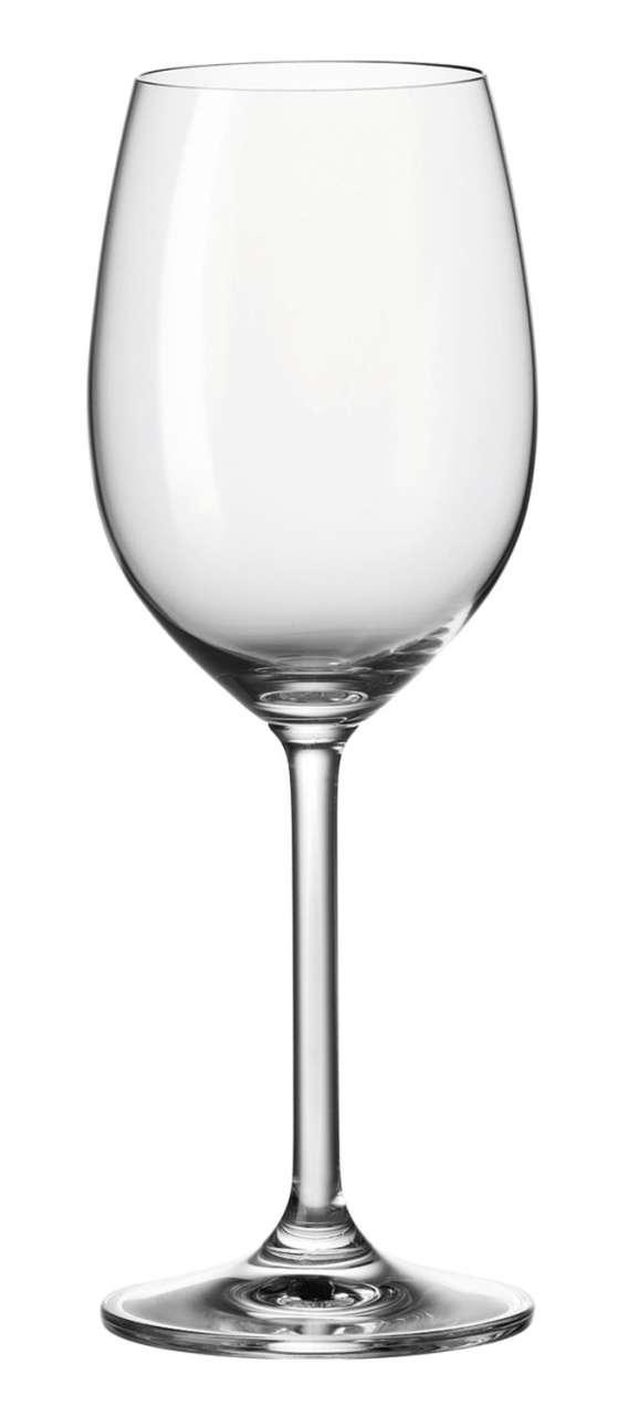 Gläser Glas Weißweinglas DAILY 1, 370 ml, Glas, Transparent, klar