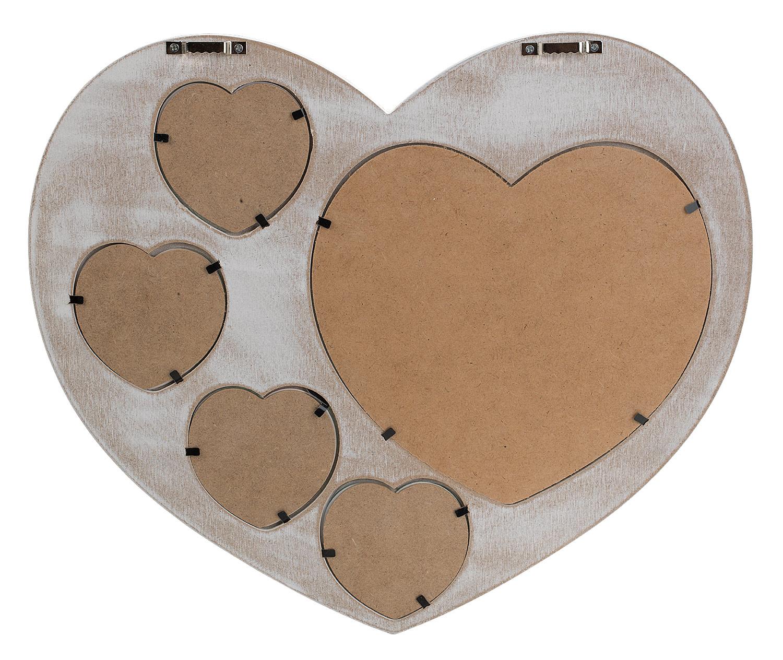 Herzspiegel YSABEL, 37x32 cm