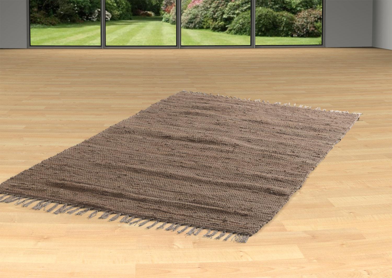 Teppich FRANKEN schoko, Schoko, 80x250 cm