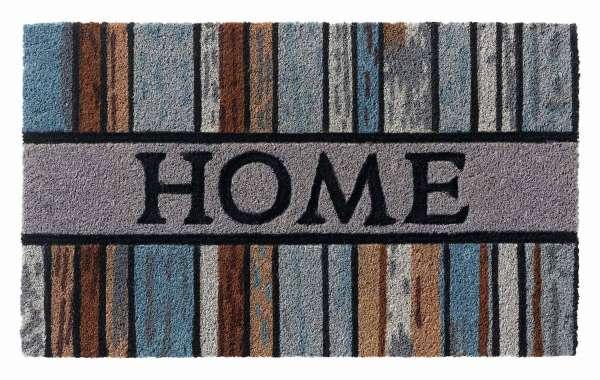 Fußmatte Schmutzfangmatte RUCO STYLE 3, Grau Home B 45 x L 75 cm